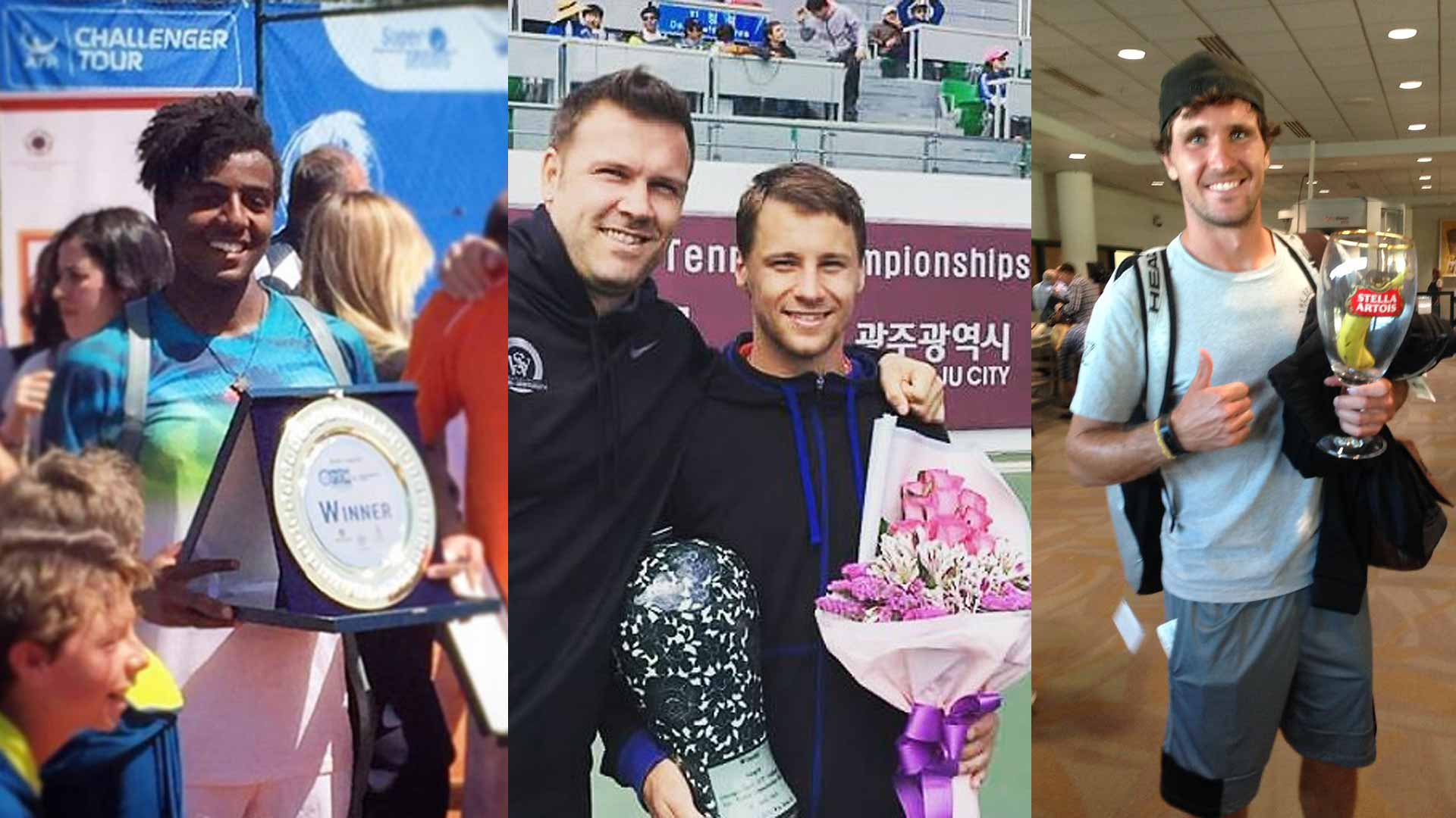 Elias Ymer, Ricardas Berankis and Mischa Zverev all captured titles this week on the ATP Challenger Tour.