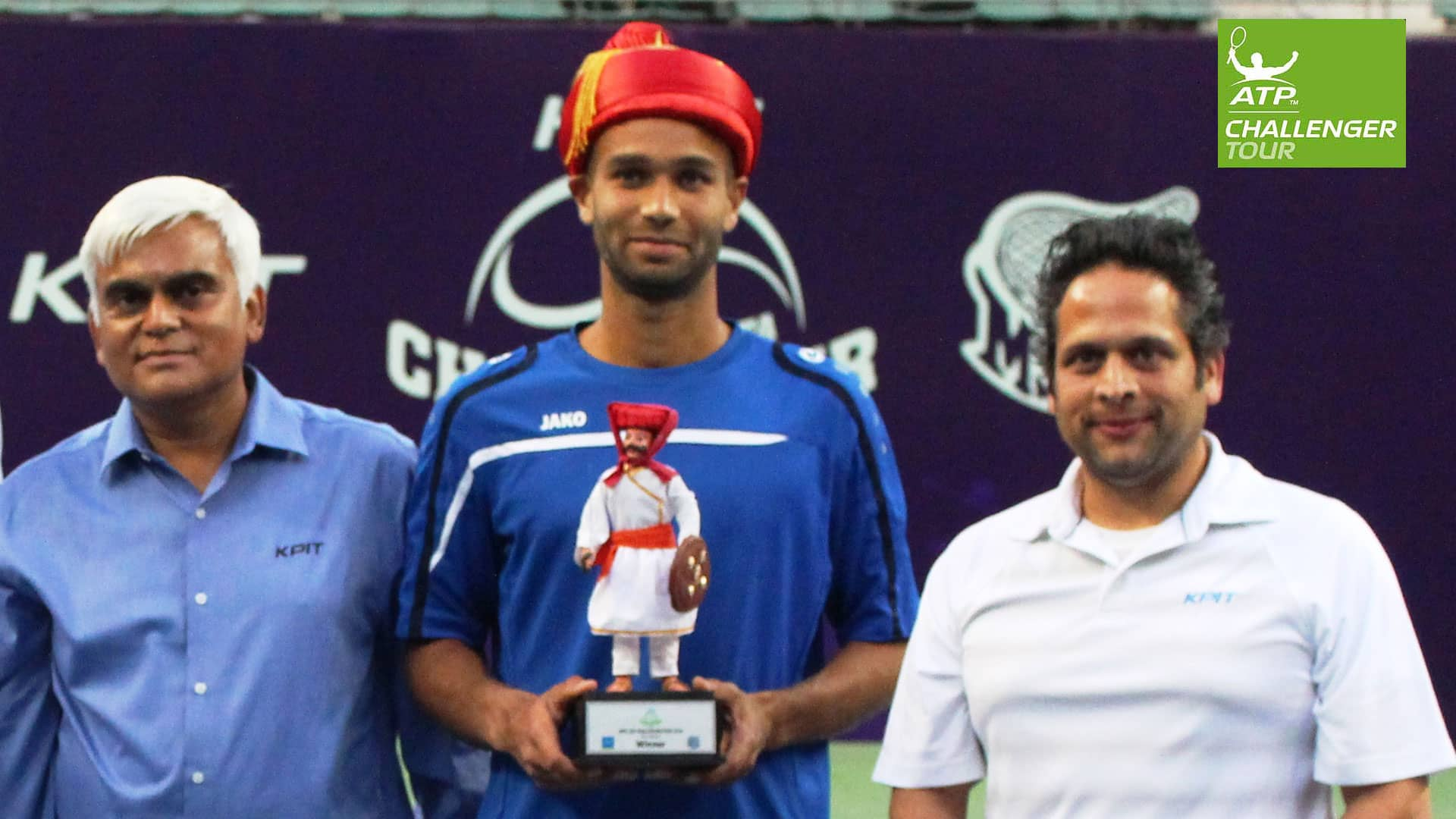 Sadio Doumbia captures his maiden ATP Challenger Tour title in Pune.