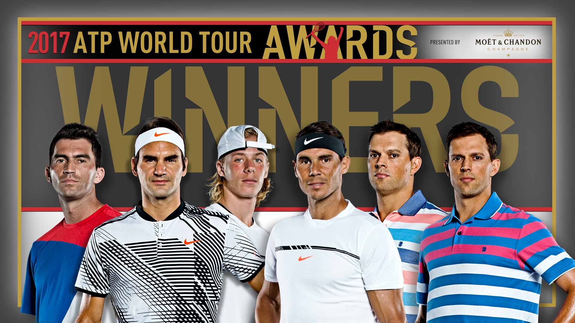 2017 ATP World Tour Awards presented by Moet & Chandon