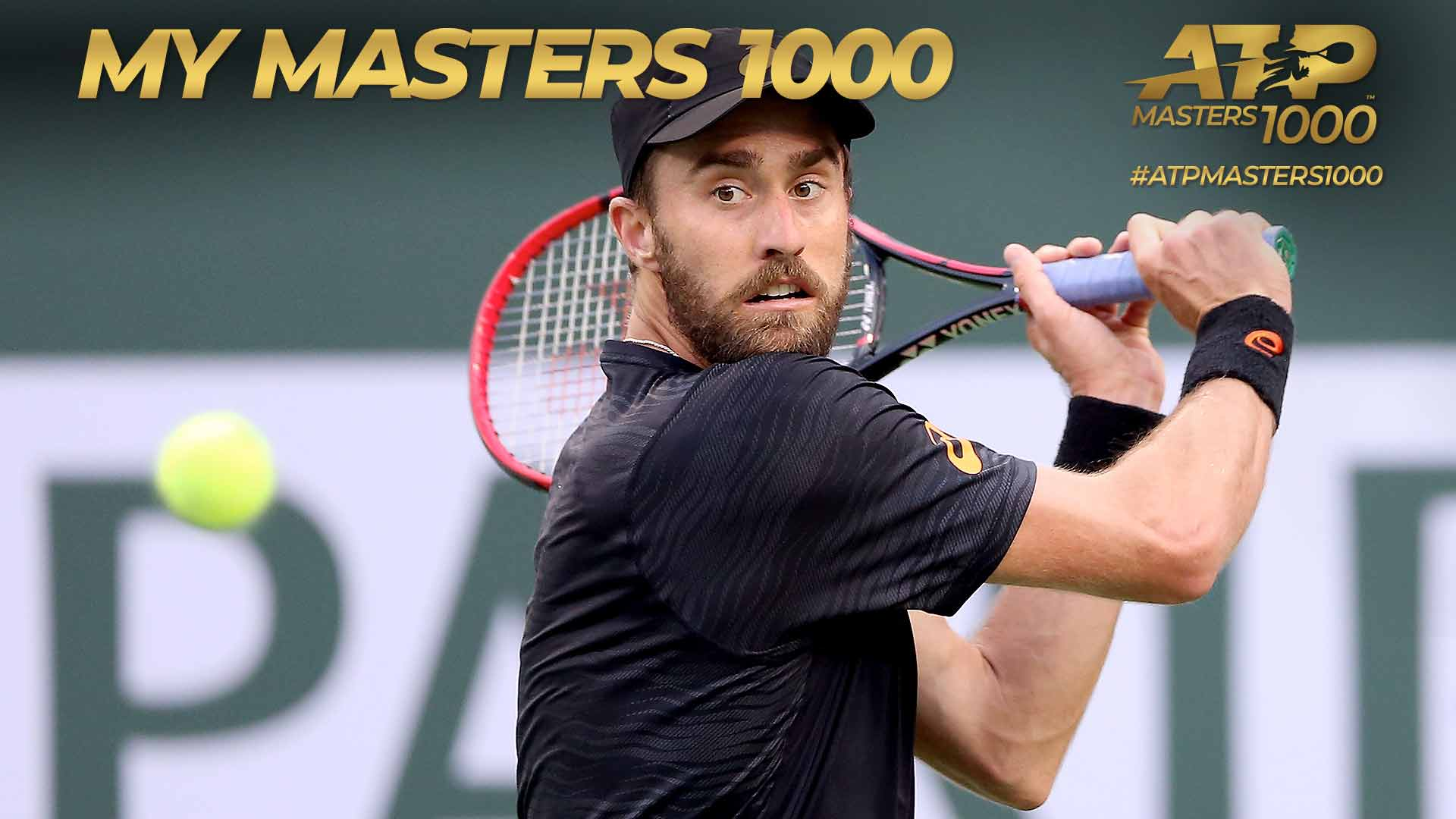 Steve Johnson plays Roger Federer at Indian Wells