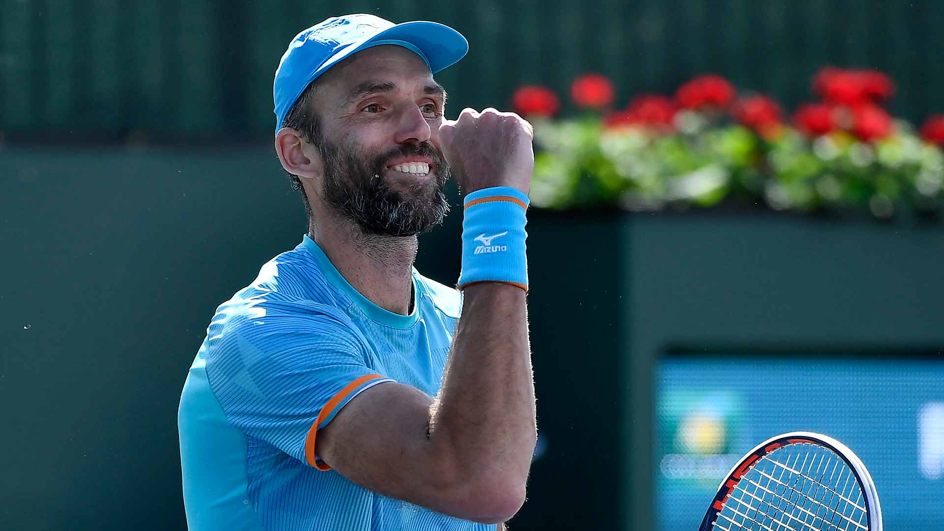 Ivo Karlovic sets records at the BNP Paribas Open