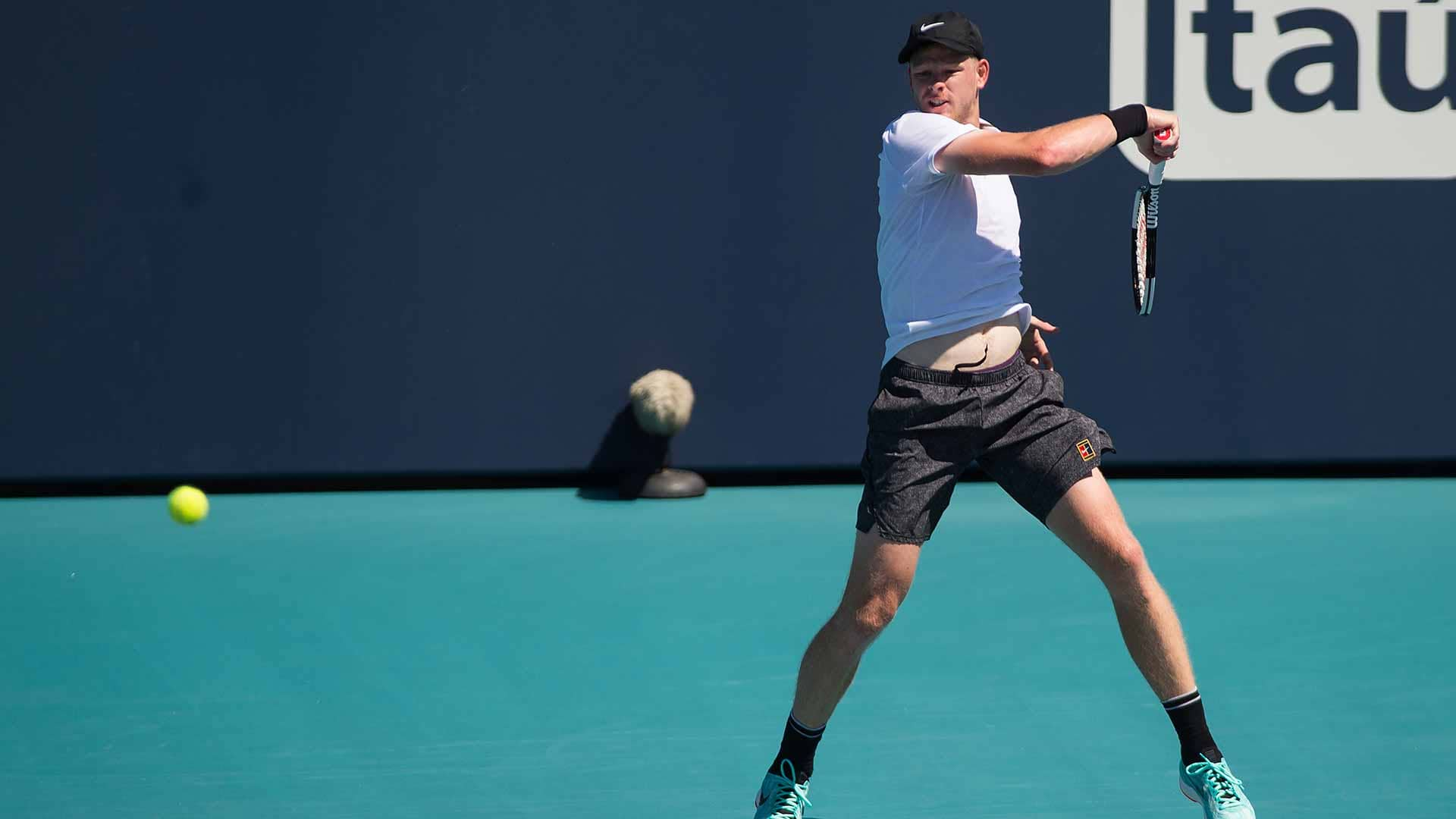 Kyle Edmund wins at the Miami Open presented by Itau