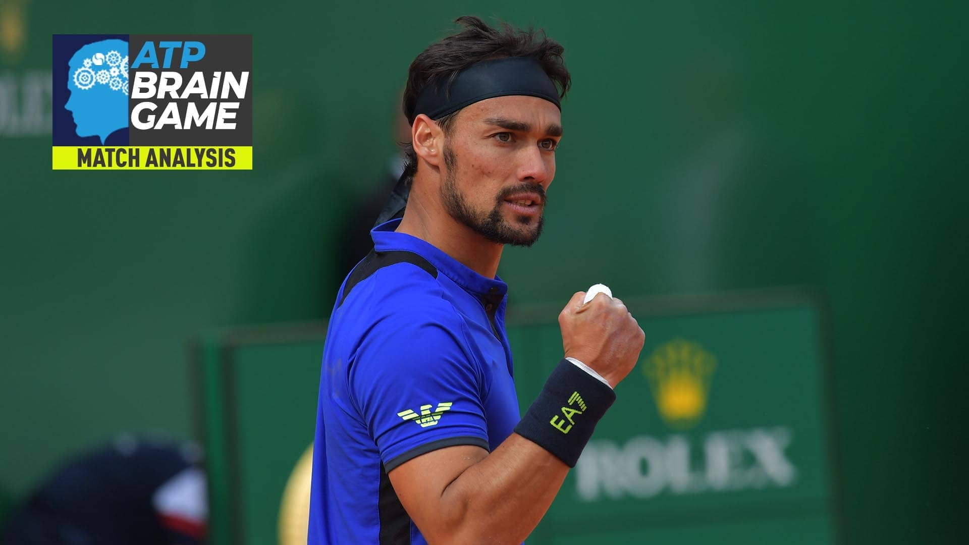 Fabio Fognini recorded his fourth victory in 15 FedEx ATP Head2Head meetings against Rafael Nadal at the Rolex Monte-Carlo Masters on Saturday.