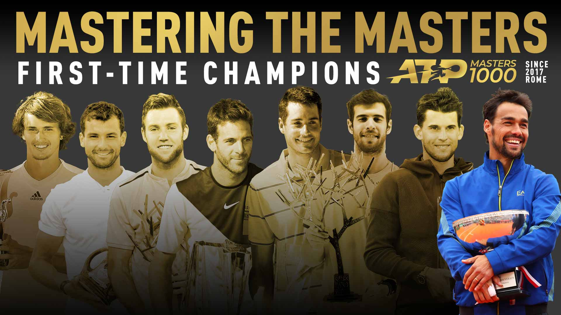 Eight recent first-time Masters 1000 winners