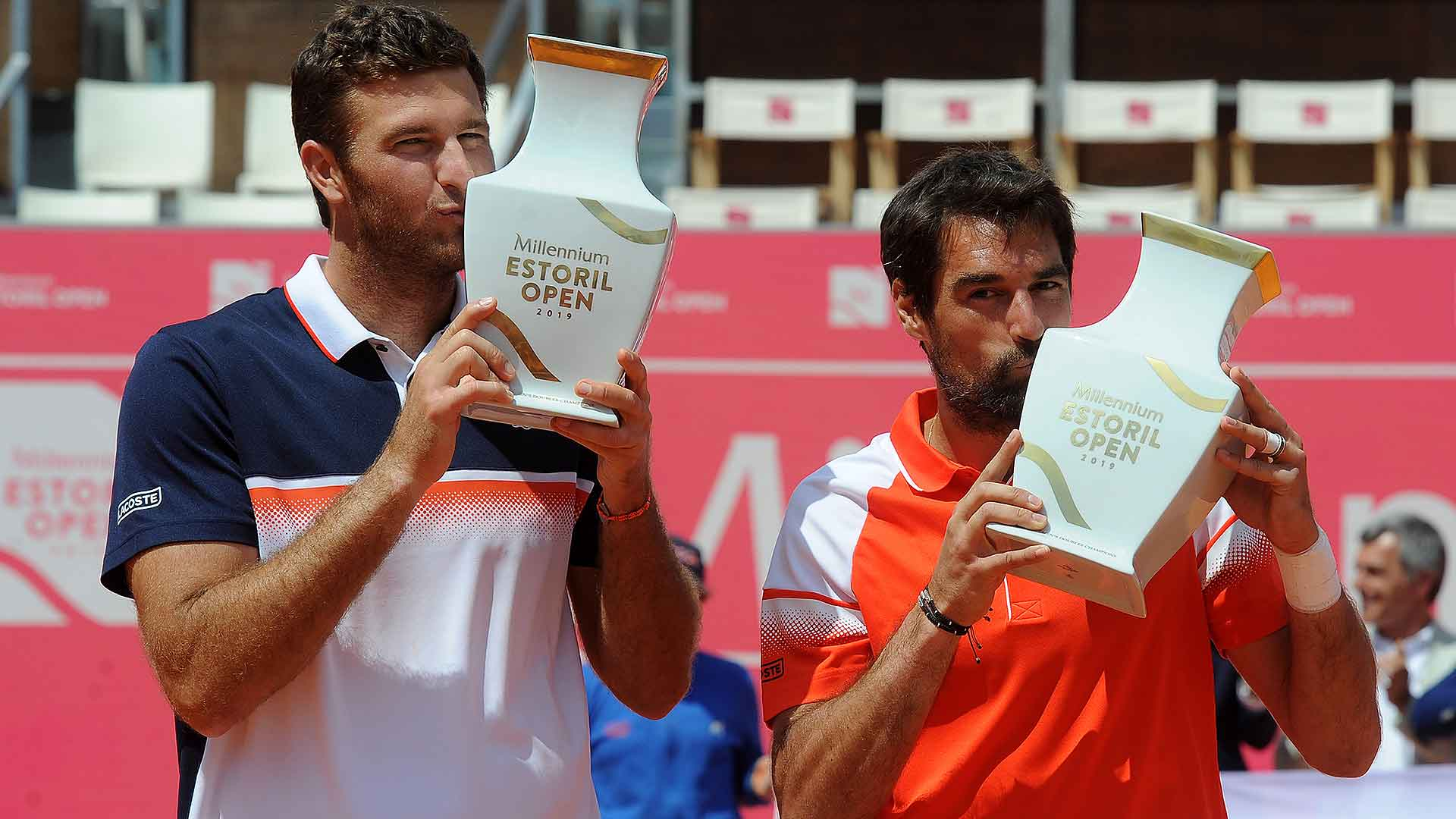 Fabrice Martin and Jeremy Chardy win the Estoril doubles title on Sunday