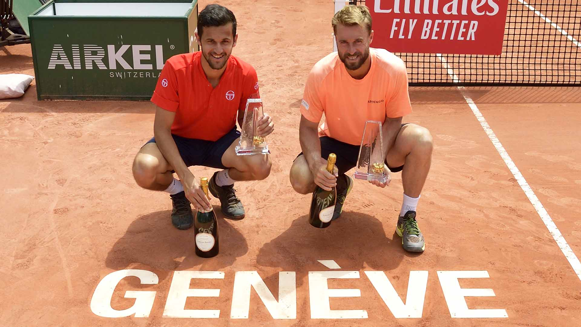 Mate Pavic and Oliver Marach improve to 8-0 at the Banque Eric Sturdza Geneva Open.