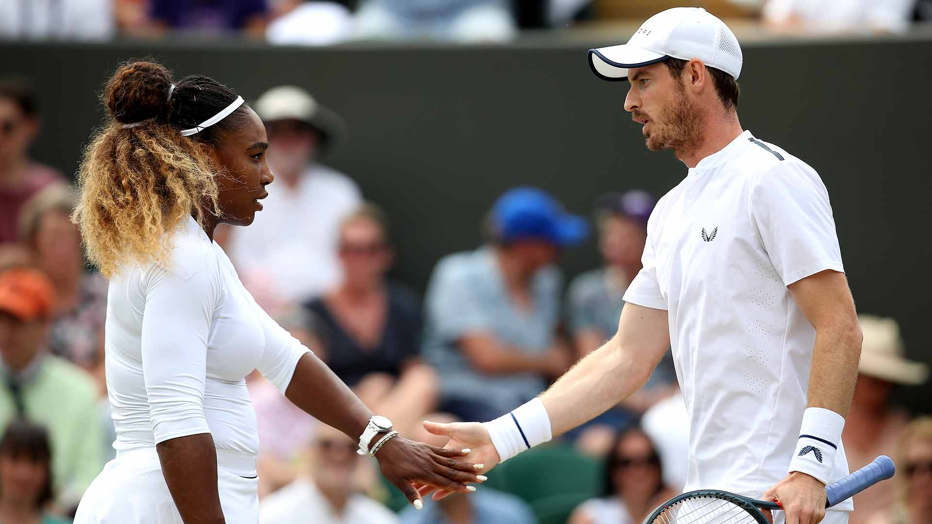 Serena Williams/Andy Murray fall to top seeds Bruno Soares/Nicole Melichar on Wednesday at Wimbledon