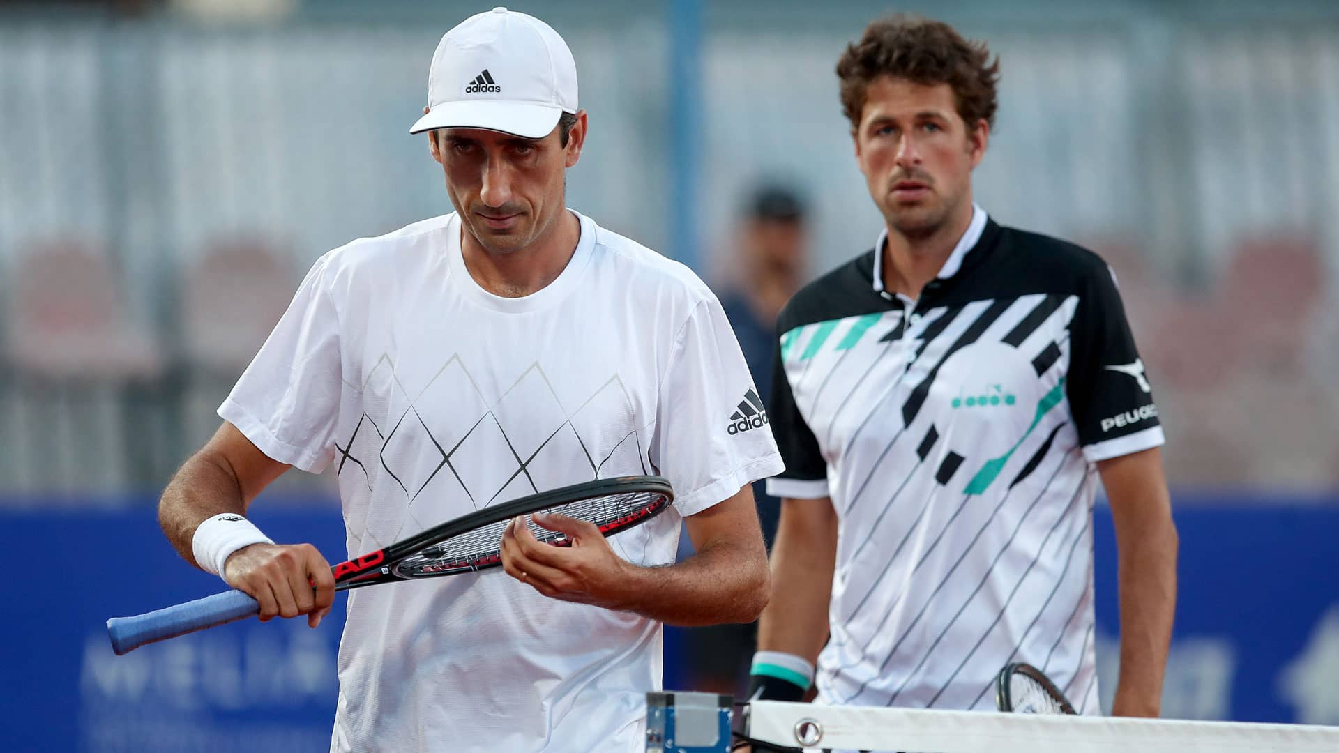 Philipp Oswald and Robin Haase at Umag 2019