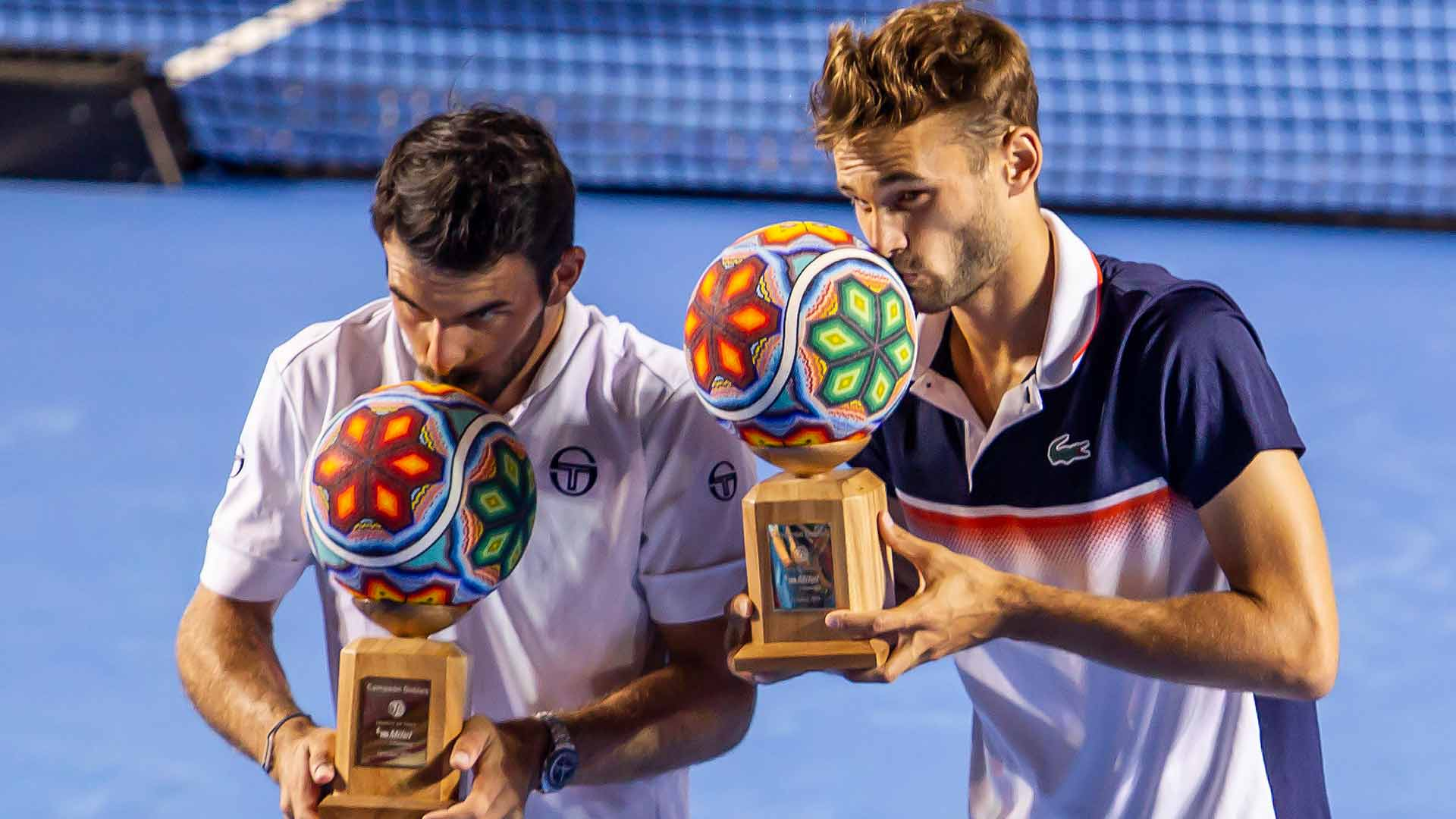 Arneodo/Nys win the Los Cabos doubles title on Saturday