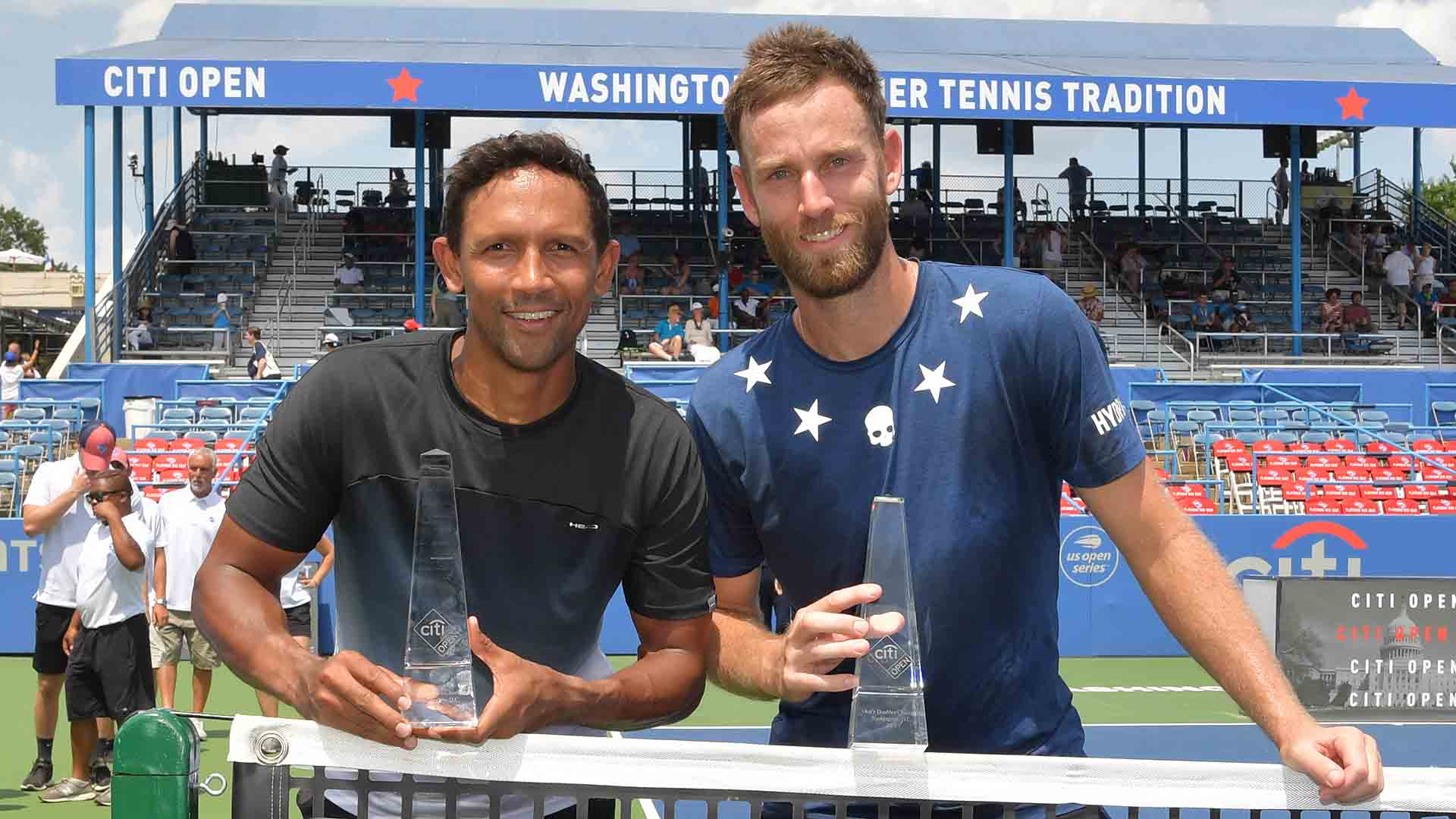 Two of Raven Klaasen and Michael Venus' three tour-level trophies have been claimed at ATP 500 events.