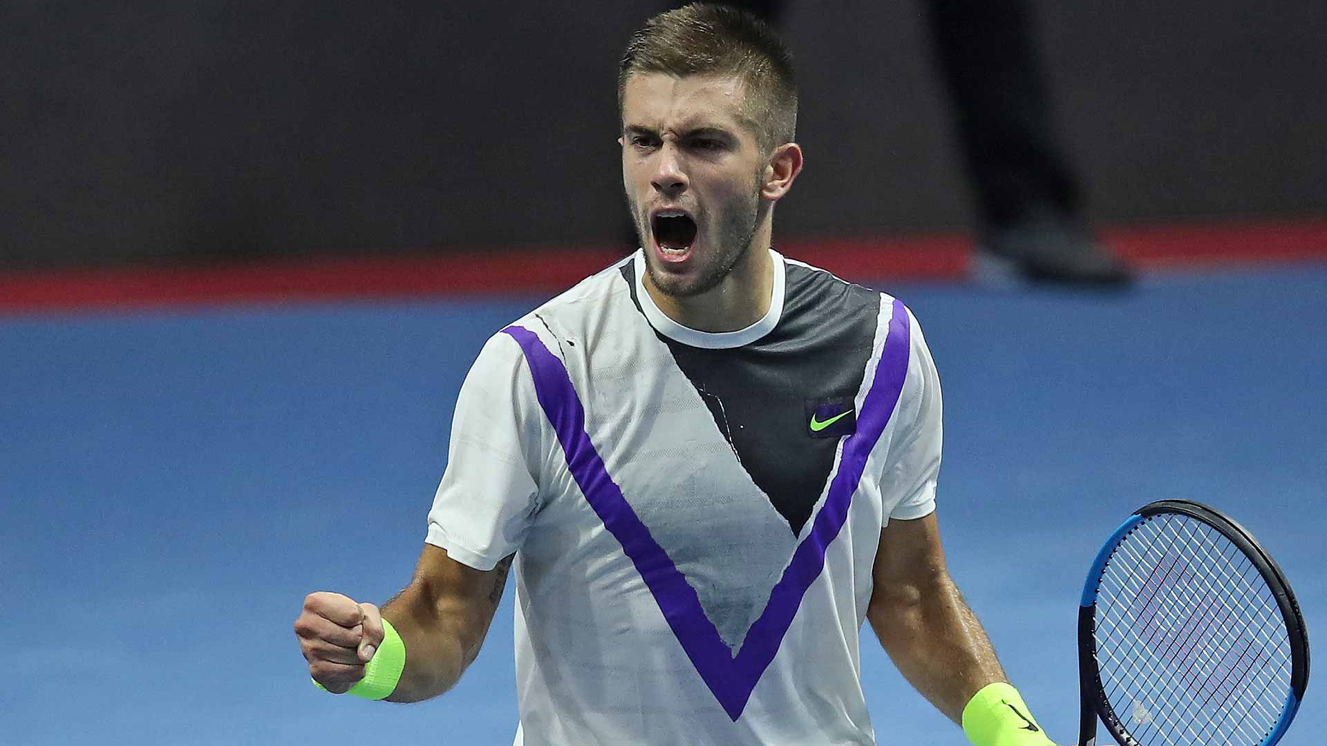 Borna Coric has jumpstarted his season this week at the St. Petersburg Open.