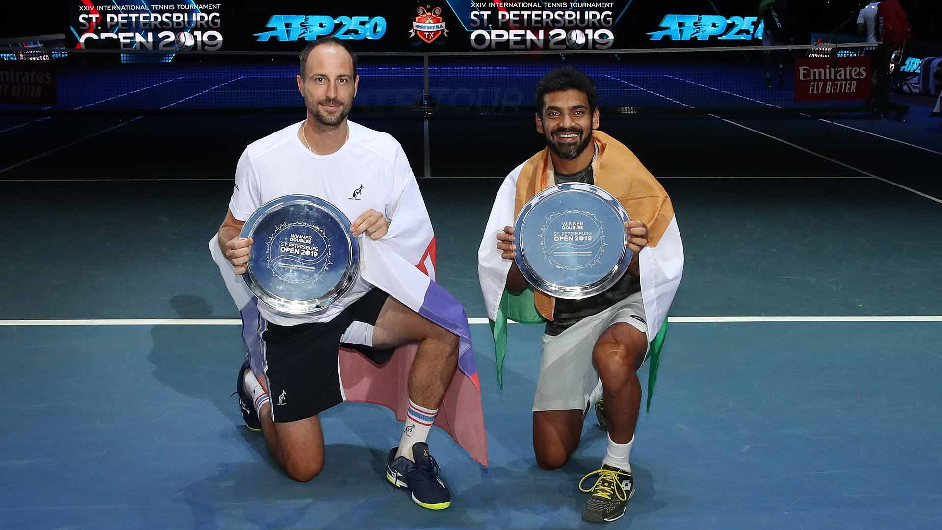 Zelenay/Sharan win the St. Petersburg Open doubles title on Sunday