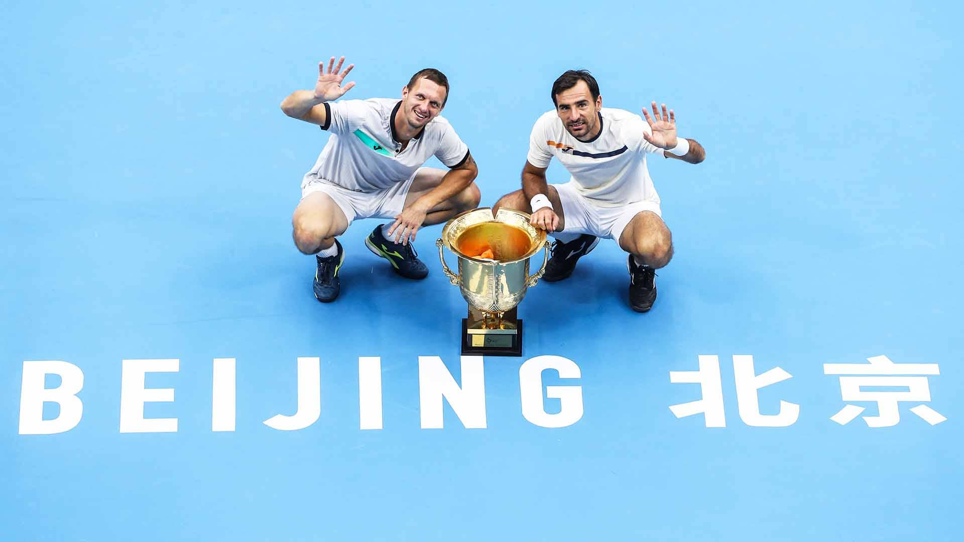 Filip Polasek and Ivan Dodig improve to 2-1 in ATP Tour finals as a team.