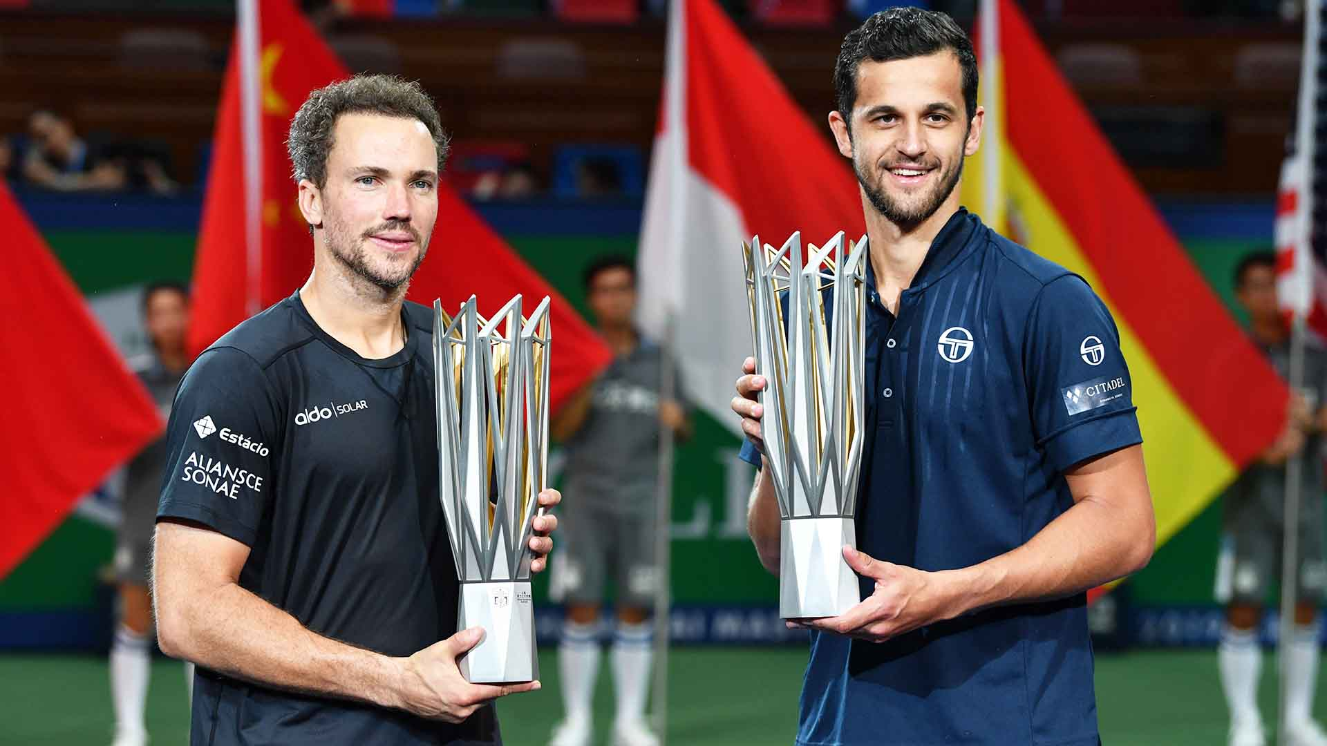 Bruno Soares and Mate Pavic began their partnership at the Fever-Tree Championships in June.