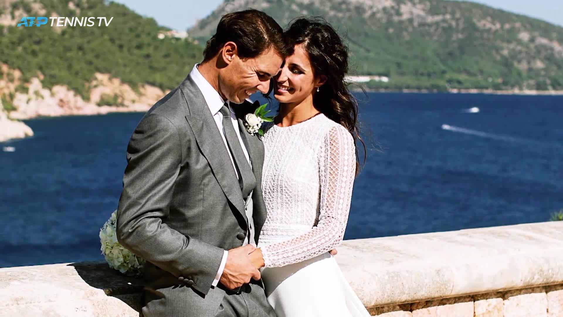 Rafael Nadal and Maria Francisca Perello wed on 19 October in Mallorca.
