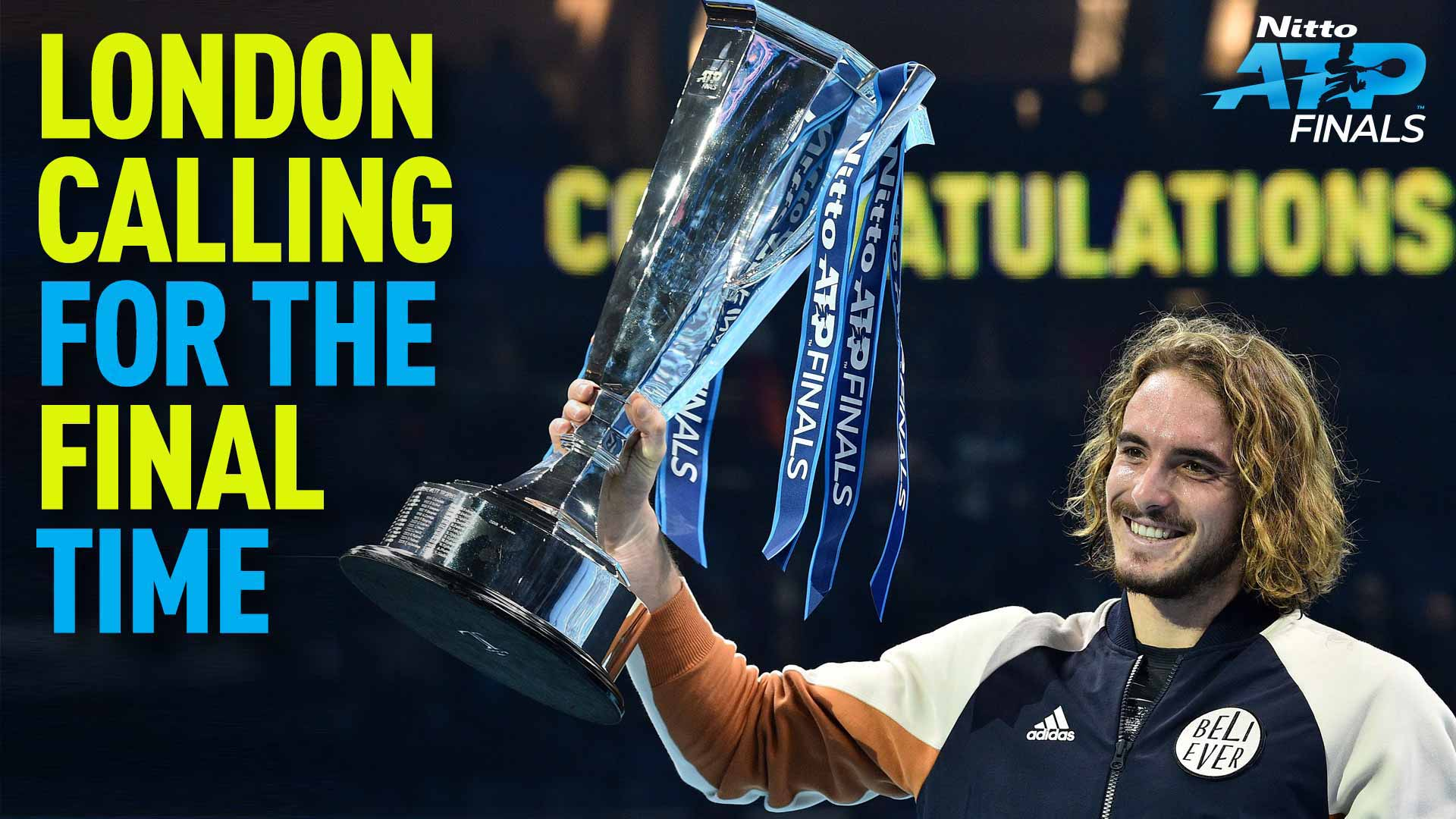 Stefanos Tsitsipas, 2019 Nitto ATP Finals champion at The O2, London