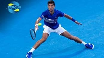 Novak Djokovic will lead Serbia at next month's ATP Cup in Australia.
