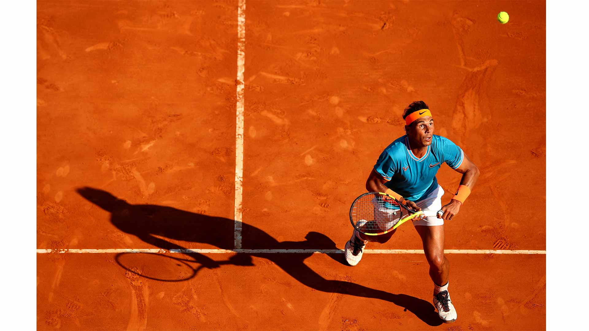 Photographer Clive Brunkill's Best of 2019 pick: Rafael Nadal in action at the 2019 Rolex Monte-Carlo Masters.