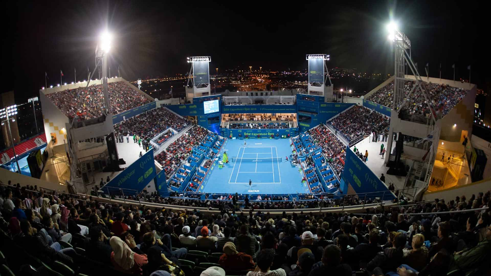 The Qatar ExxonMobil Open in Doha claims the Tournament of the Year award in the 250 category in the 2019 ATP Awards.