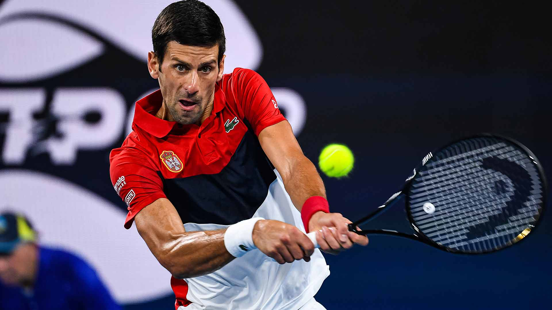 Novak Djokovic looks to lead Serbia to the ATP Cup title in Sydney.