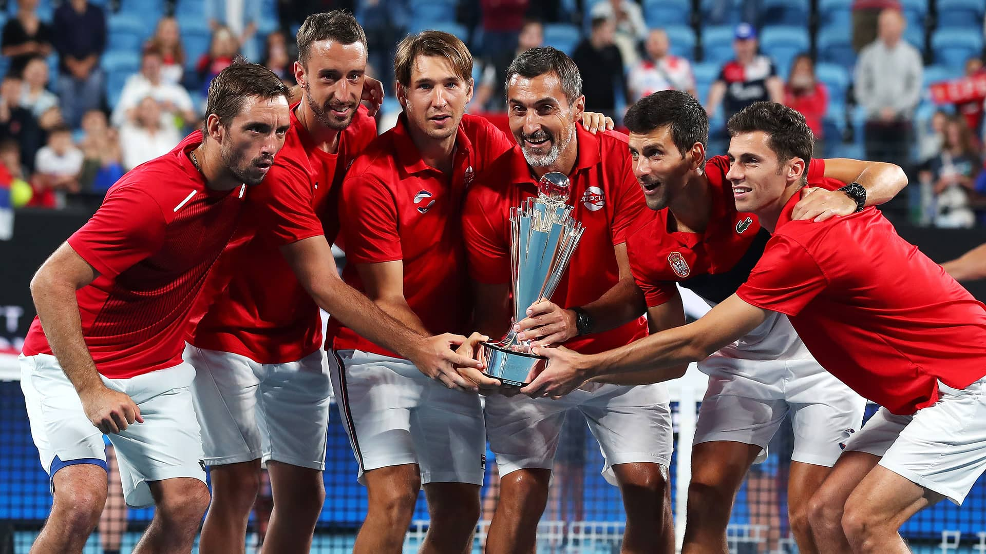Team Serbia wins the inaugural ATP Cup in Sydney