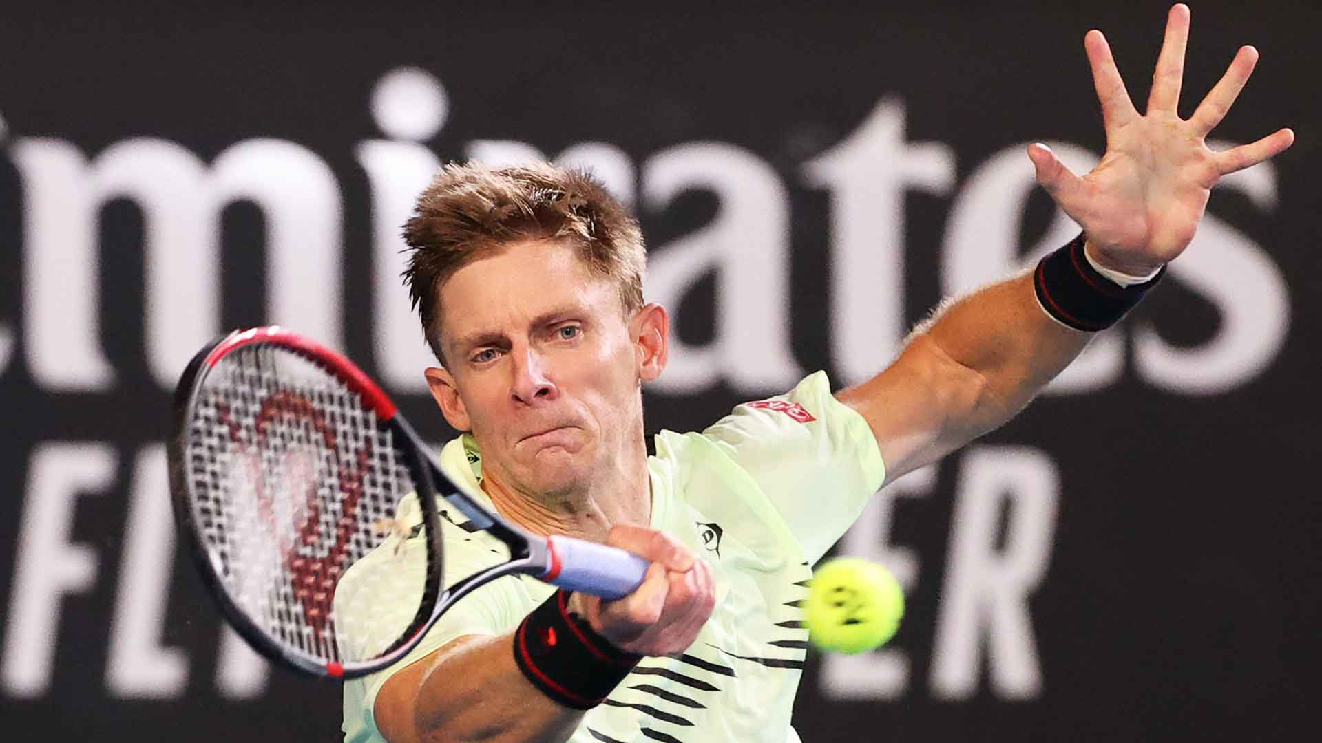 Kevin Anderson improves to 13-11 at the Australian Open.