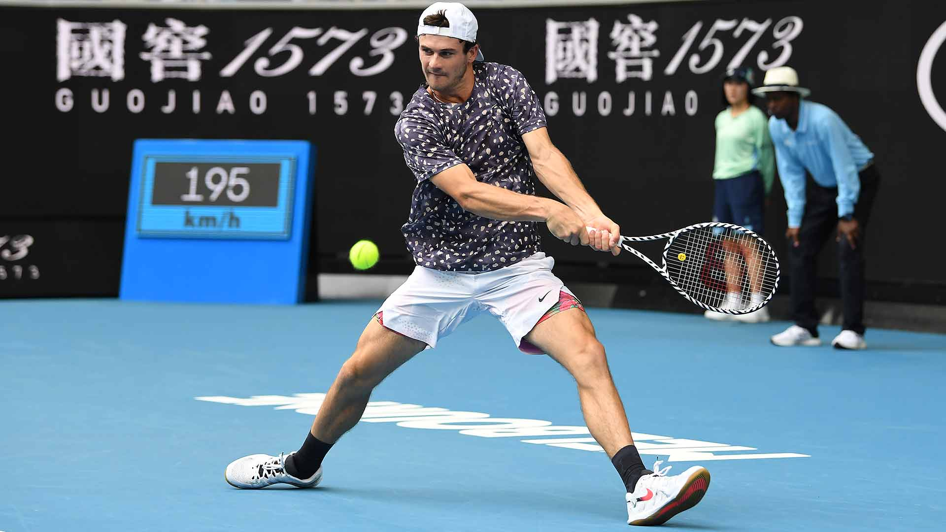 American Tommy Paul reaches the third round of a Grand Slam for the first time on Wednesday at the Australian Open.