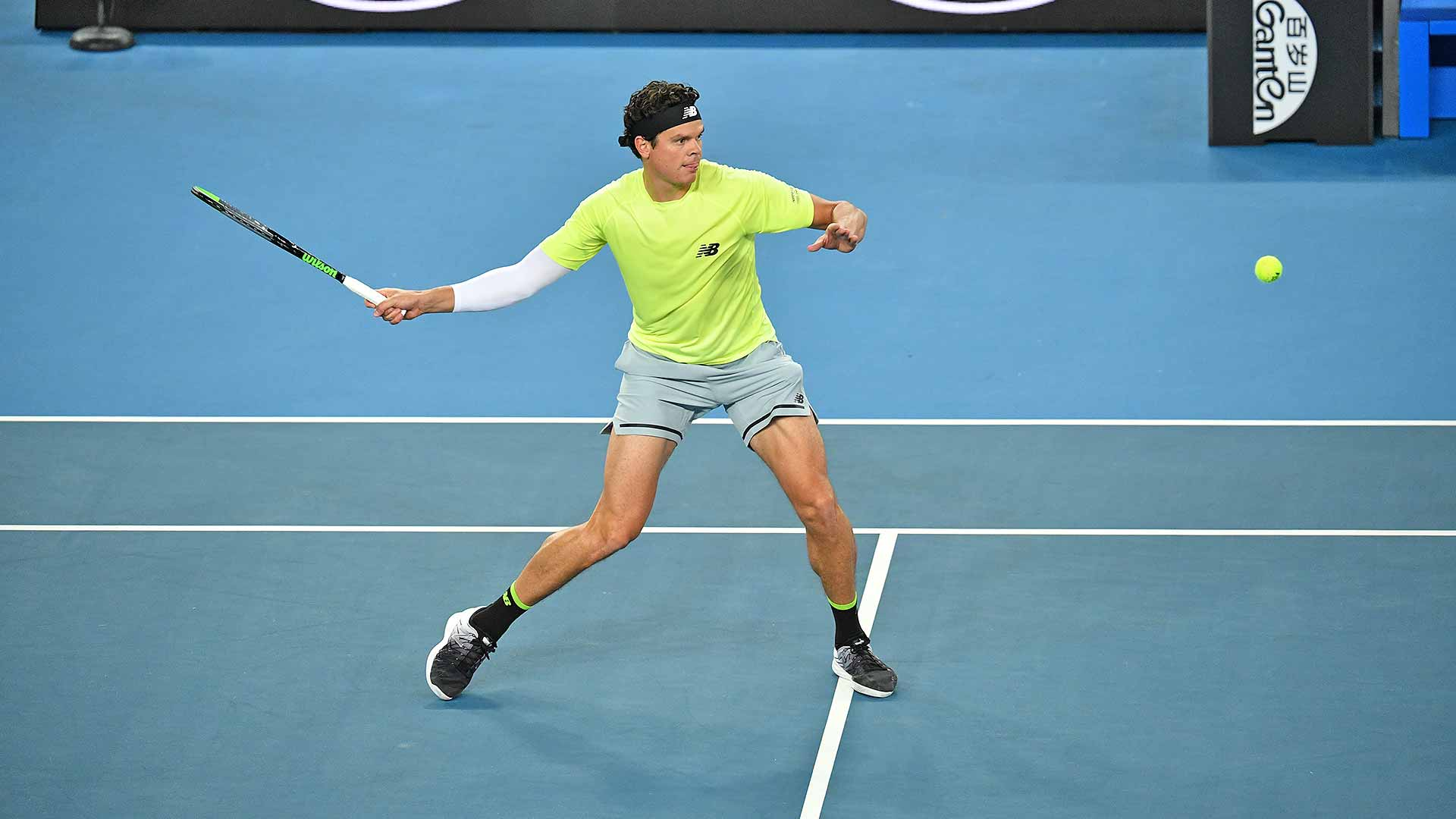 Milos Raonic has reached the Australian Open quarter-finals or better in four of the past five years.