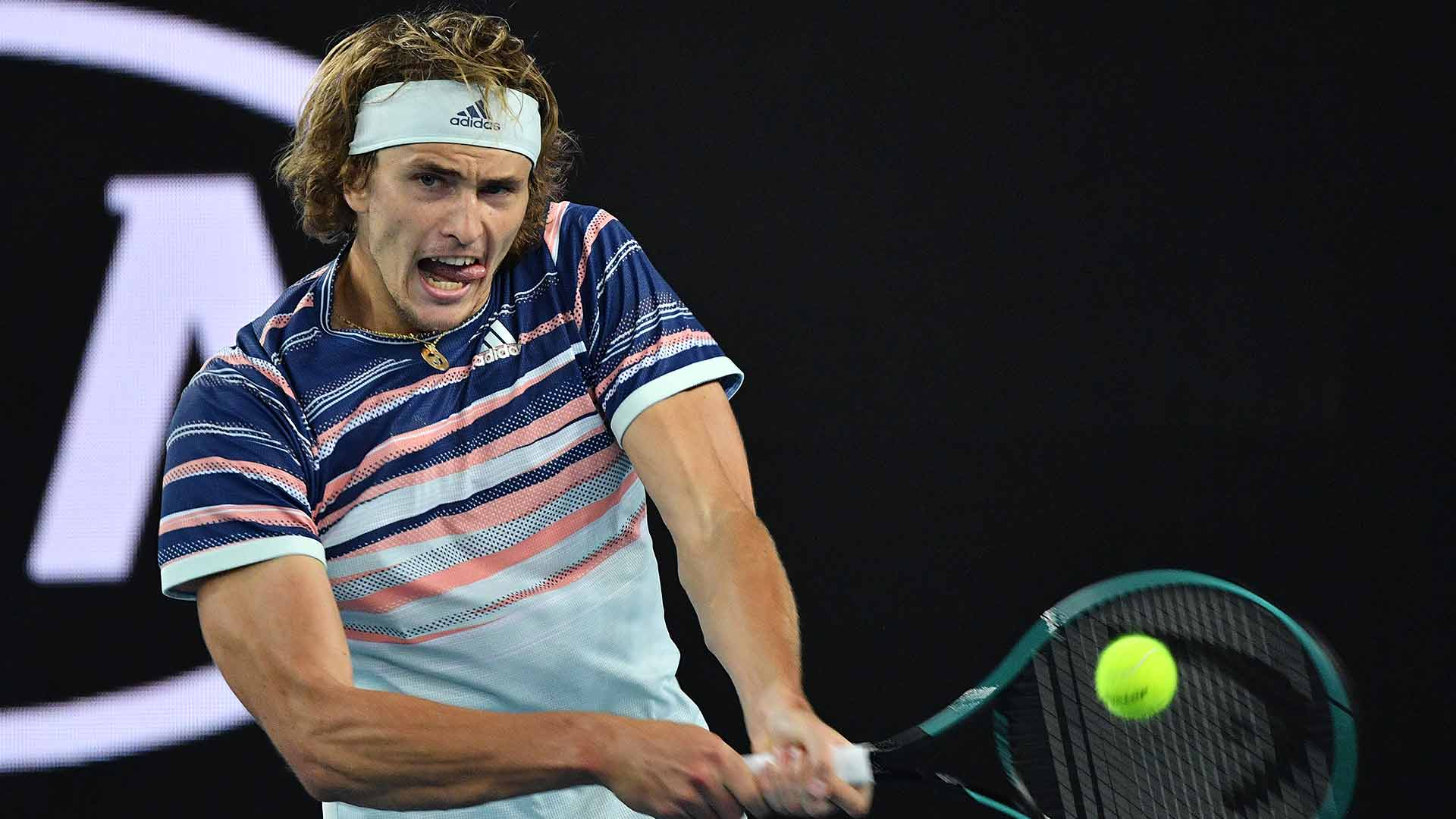 Alexander Zverev is through to the second week of the Australian Open.