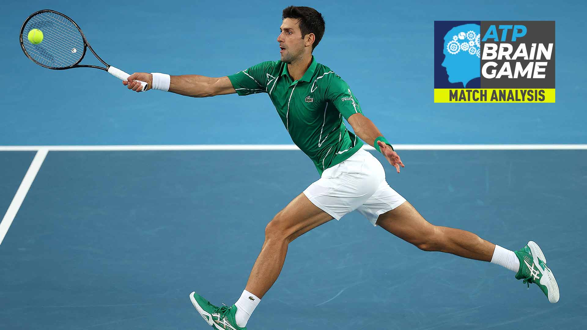 Novak Djokovic served and volleyed in key moments of the Australian Open final against Dominic Thiem.